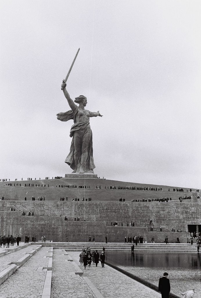 The Motherland Calls. (Mamayev Kurgan, Volgograd)