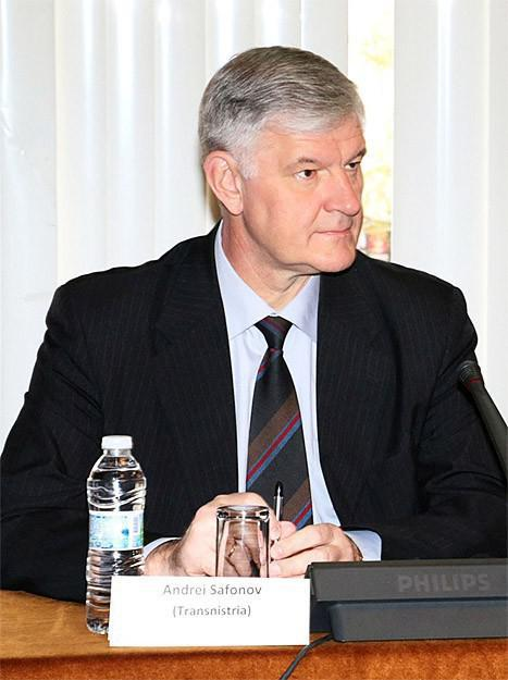 Andrei Safonov, Transnistria, 2011 presidential elections candidate
