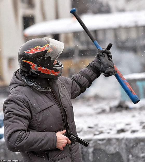 Kiev, January 22, 2014. Photo: AFP
