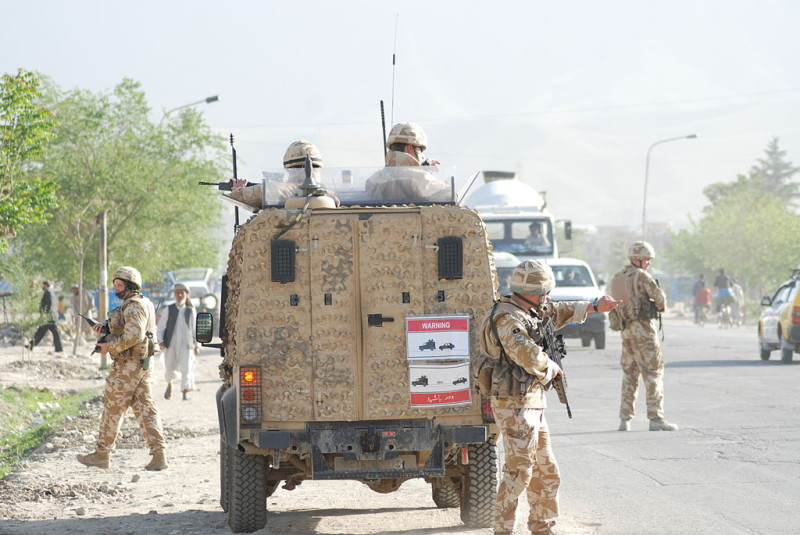 Royal Anglian Regiment in Helmand Province.