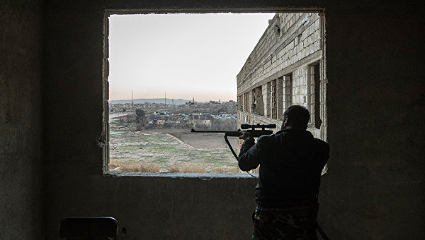 Syrian soldier. Archive photo. © RIA Novosti / Ilya Pitaliov