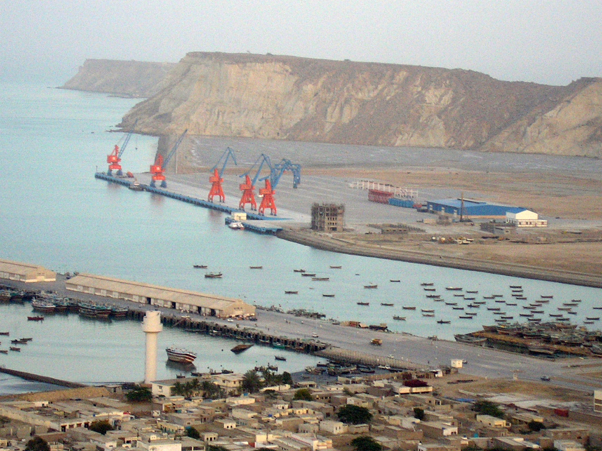 Gwadar Port. Photo by J. Patrick Fischer