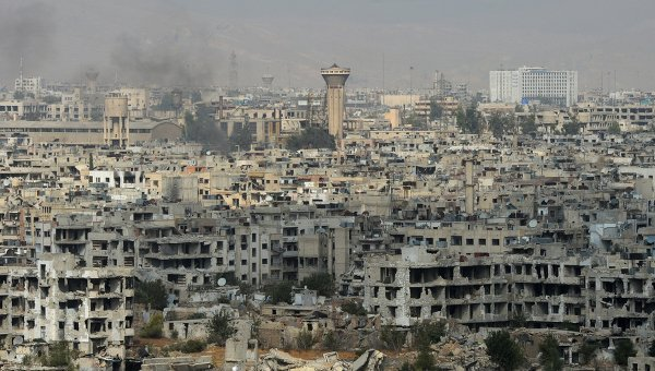 Jobar district controlled by Jabhat al-Nusra. Damascus, Syria. Archive photo © RIA Novosti / Mikhail Voskresensky