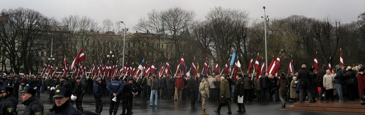 The Remembrance day of the Latvian legionnaires, 2008. Photo by: Dezidor