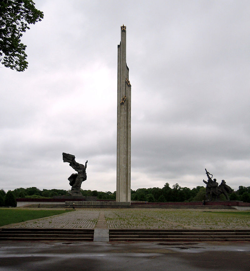 Monument to the Liberators of Riga from Nazi invaders
