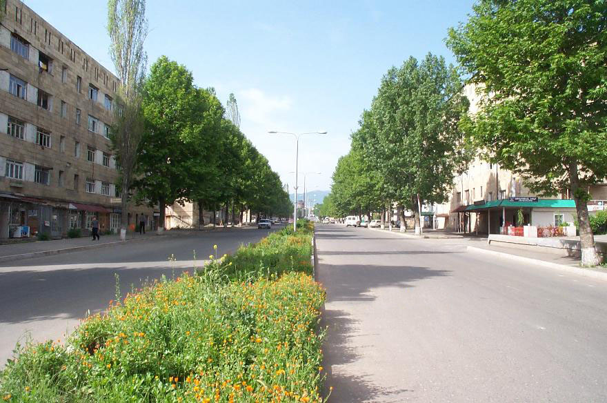 Stepanakert main street. Photo by Raffi Kojian, CC 2.5
