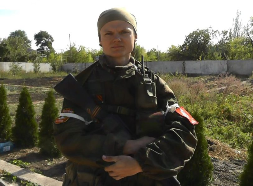 """Essence of Time"" unit in Donbass member Gazetchik"