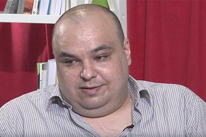 Aleksandr Chernov. Still from Youtube video by Ukrainian media