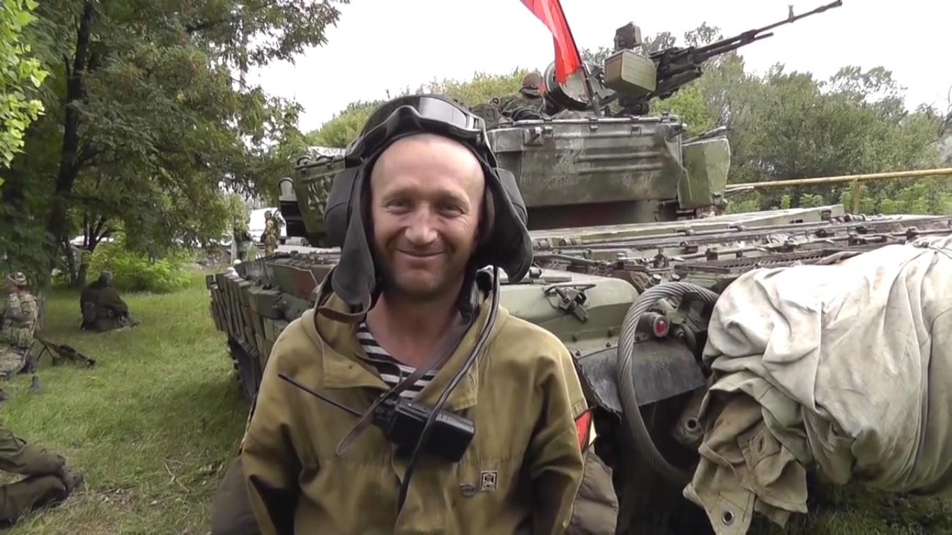 "Pancyr, the commander of the armored group of the ""Vostok"" brigade"