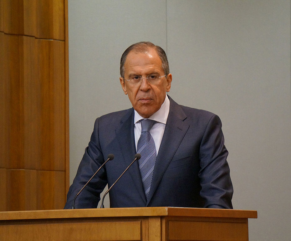 Minister of Foreign Affairs of the Russian Federation Sergei Lavrov, photo by Ministry of Foreign Affairs of Russian Federation, licensed under CC BY 4.0