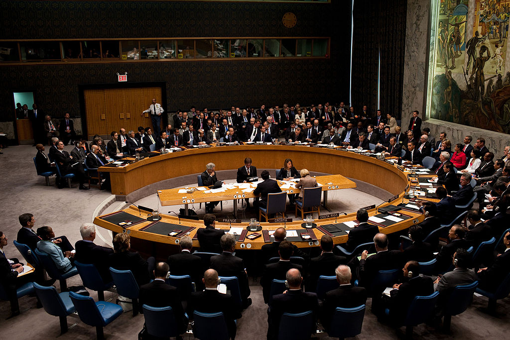 UN Security Council meeting. Archive photo. September 24, 2009