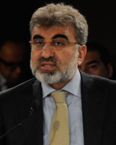 Taner Yildiz, Minister of Energy and Natural Resources of Turkey, photo by World Economic Forum, licensed under CC BY-NC-SA 2.0