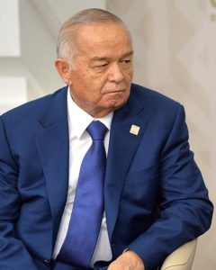 President of Uzbekistan Islam Karimov in city of Ufa in Russia during the SCO summit, photo by Kremlin.ru, licensed under CC BY 4.0