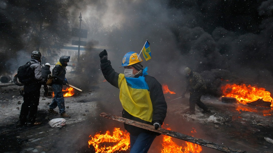 UkraineProtesterKilled