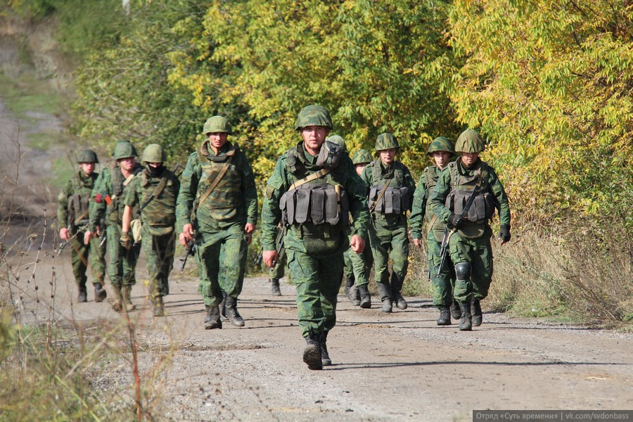 Separation of forces in the area of Petrovskoye village. October 7