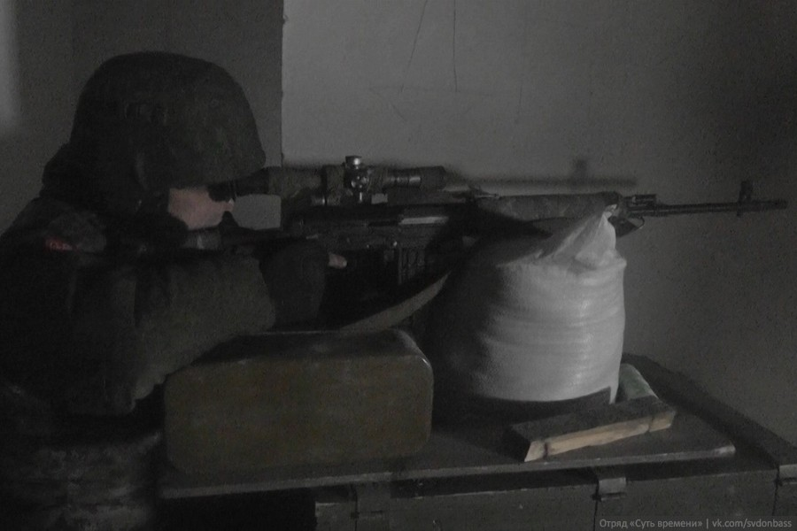 Essence of Time unit in Donbass member Mars (sniper)