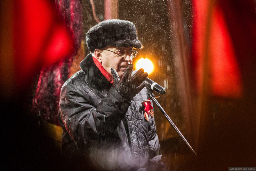 Sergey Kurginyan speaking on Essence of Time rally in Moscow. November 7, 2016