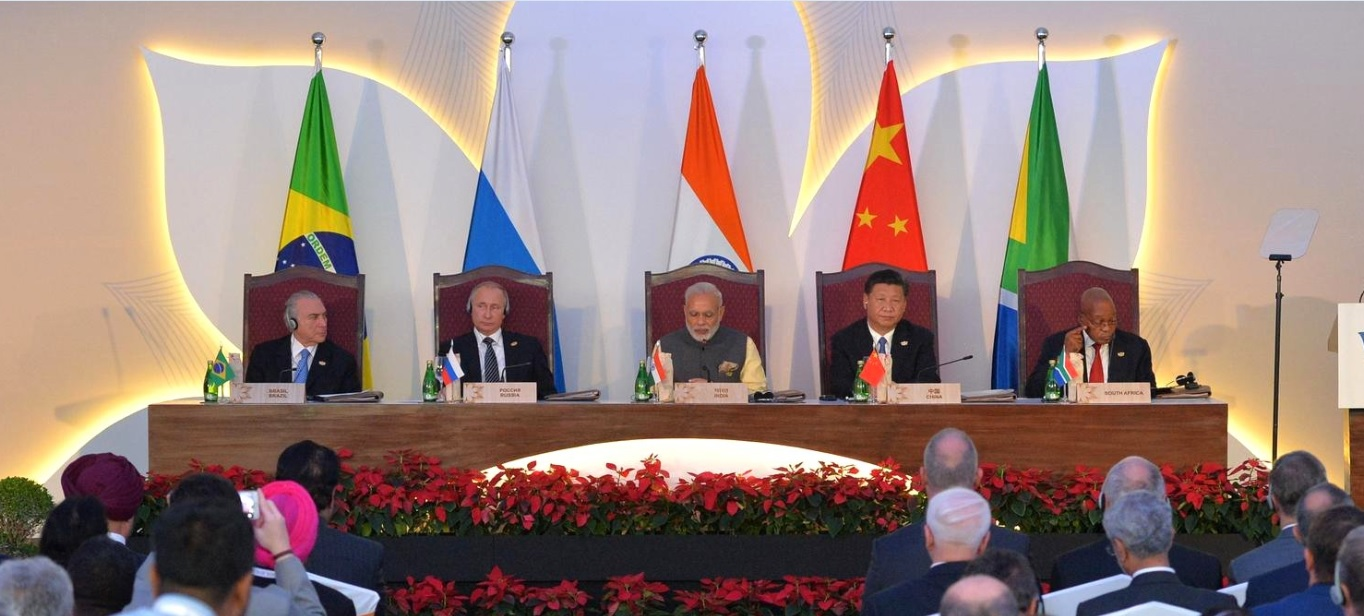 Meeting of the BRICS leaders with members of the BRICS Business Council photo by Kremlin.ru, licensed under CC BY 4.0