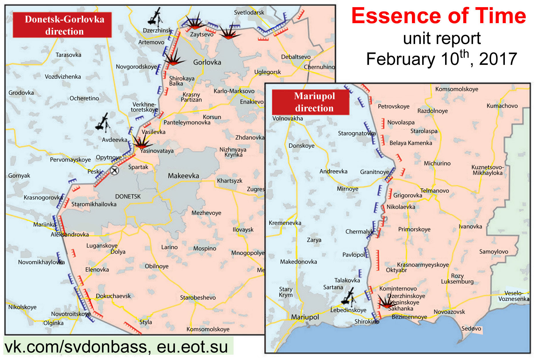 February 10 Essence Of Time Unit In Donbass Situation Report